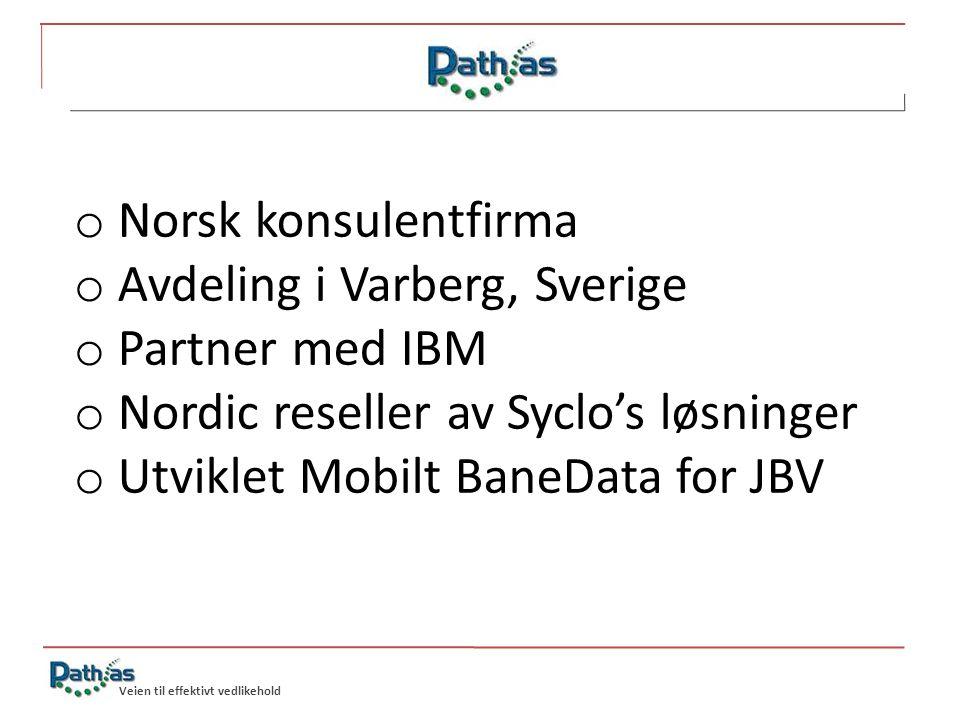 Avdeling i Varberg, Sverige Partner med IBM