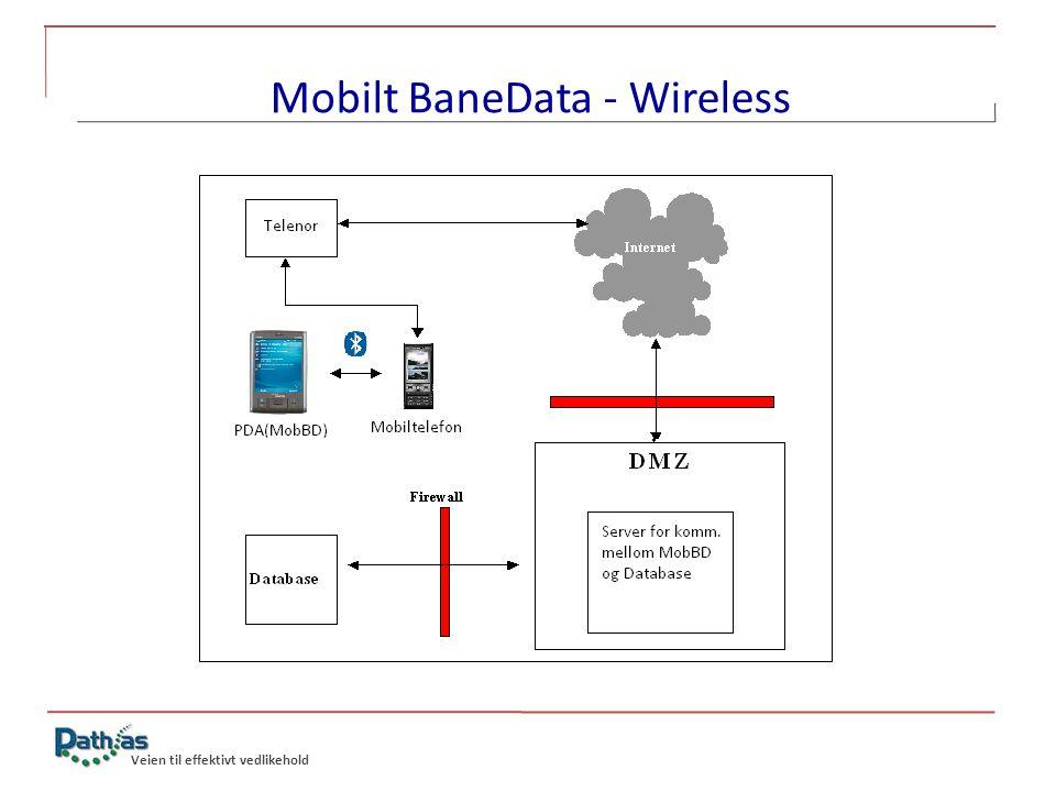 Mobilt BaneData - Wireless