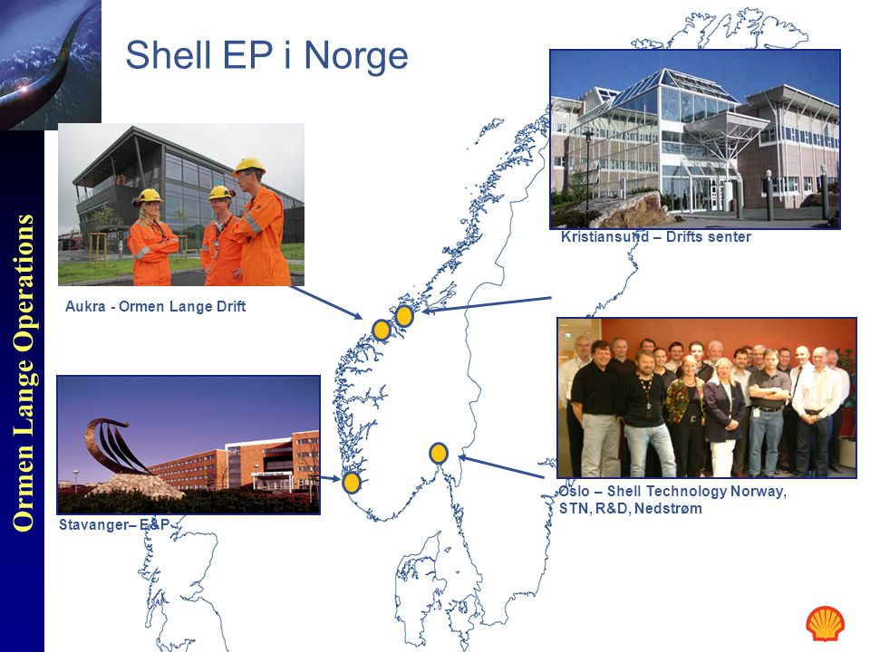 Shell EP i Norge Kristiansund – Drifts senter