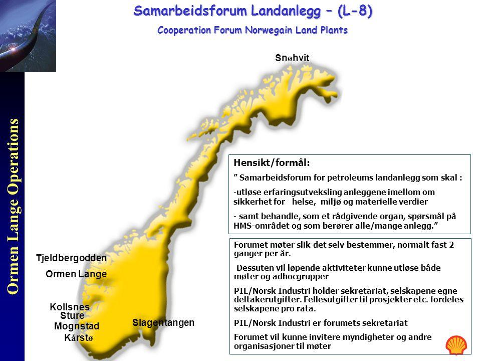 Samarbeidsforum Landanlegg – (L-8)