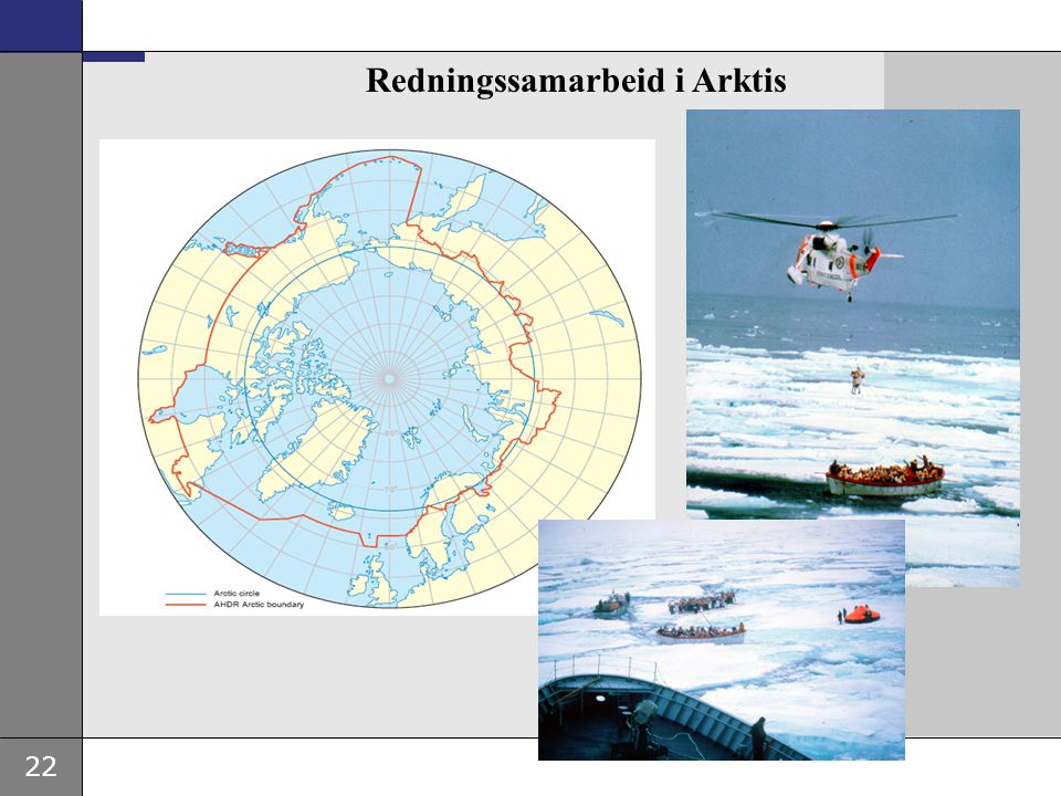 Redningssamarbeid i Arktis