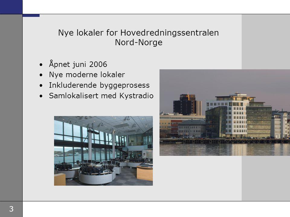 Nye lokaler for Hovedredningssentralen Nord-Norge