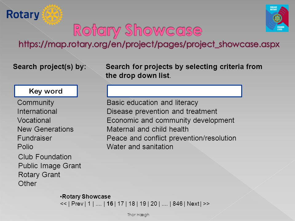 Rotary Showcase https://map. rotary