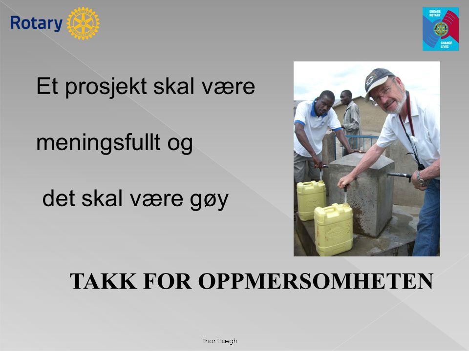 TAKK FOR OPPMERSOMHETEN