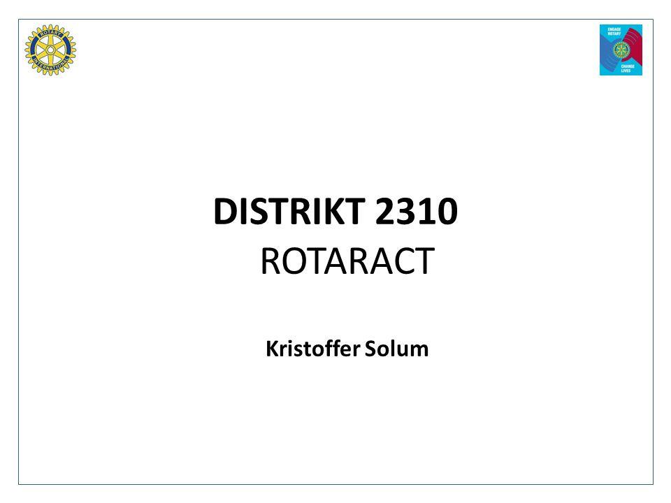ROTARACT Kristoffer Solum
