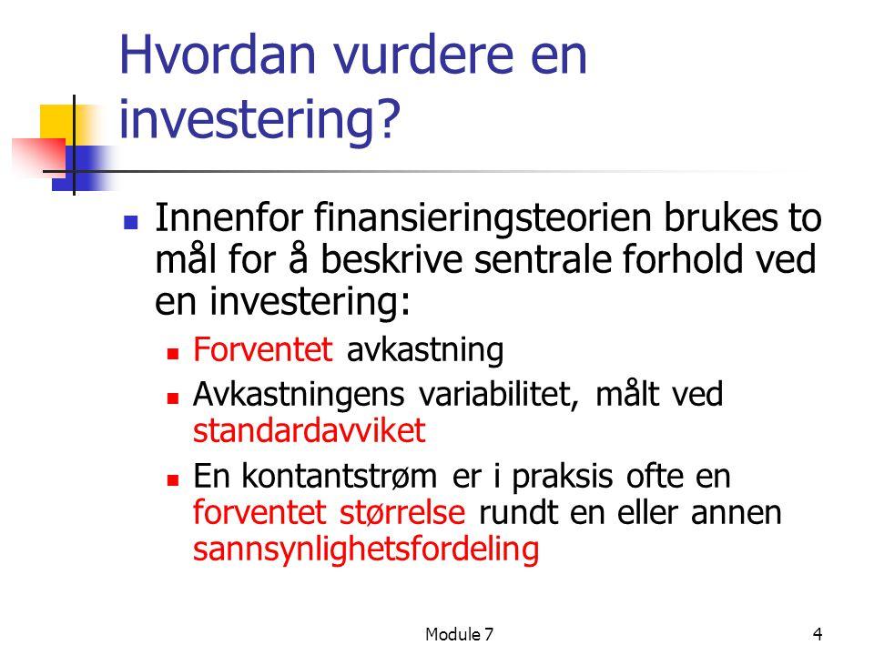 Hvordan vurdere en investering