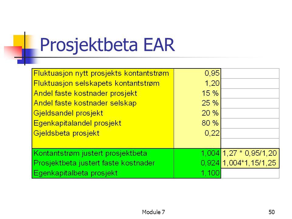 Prosjektbeta EAR Module 7