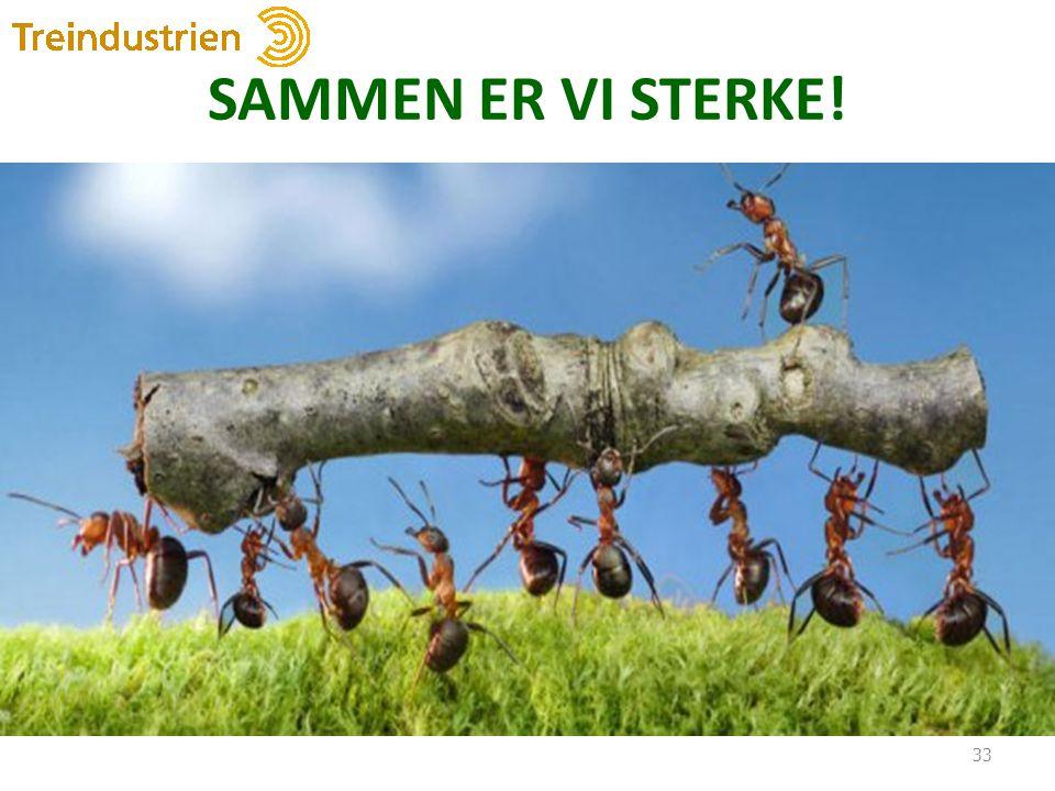 SAMMEN ER VI STERKE!