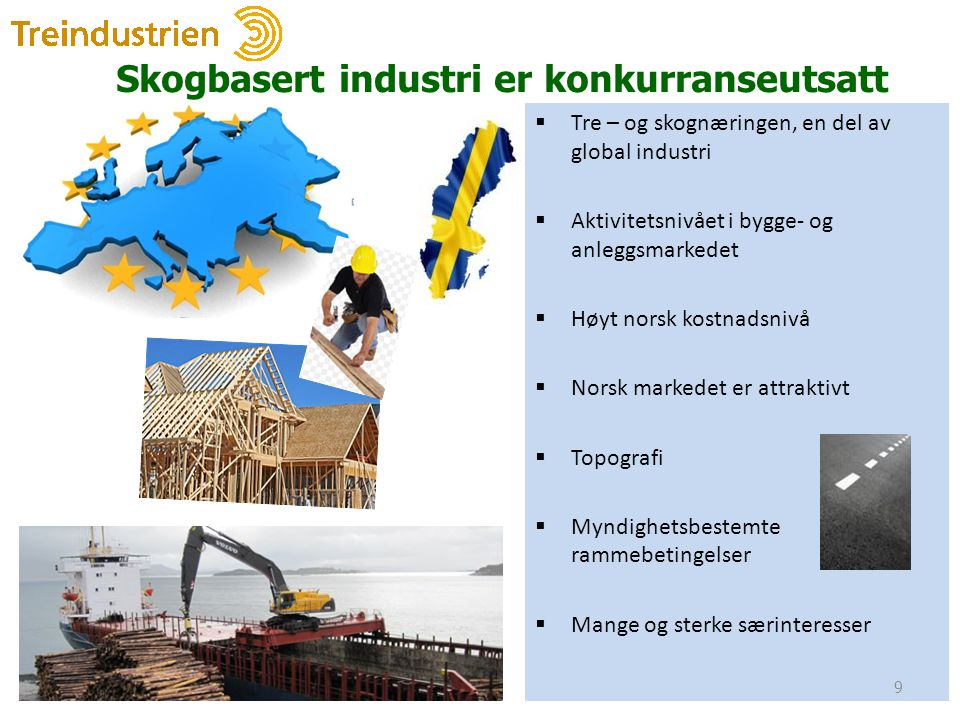 Skogbasert industri er konkurranseutsatt