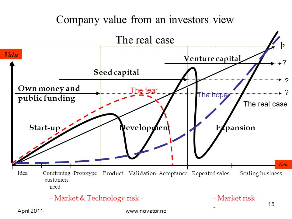 Company value from an investors view The real case