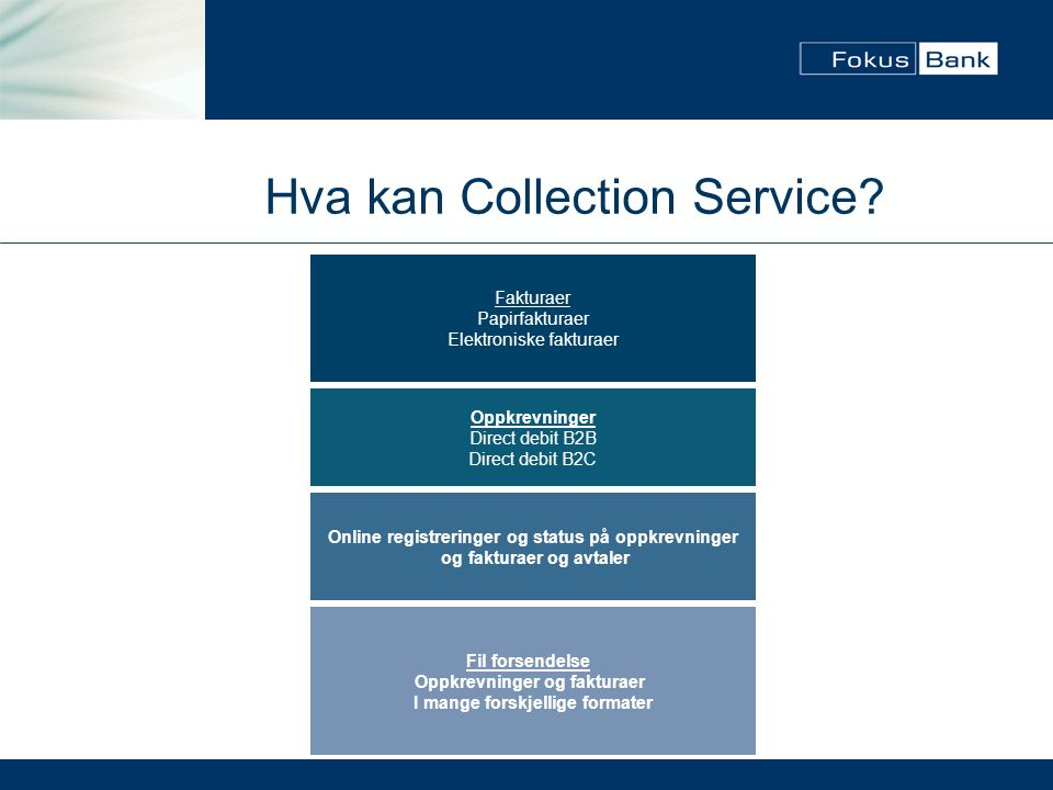 Hva kan Collection Service