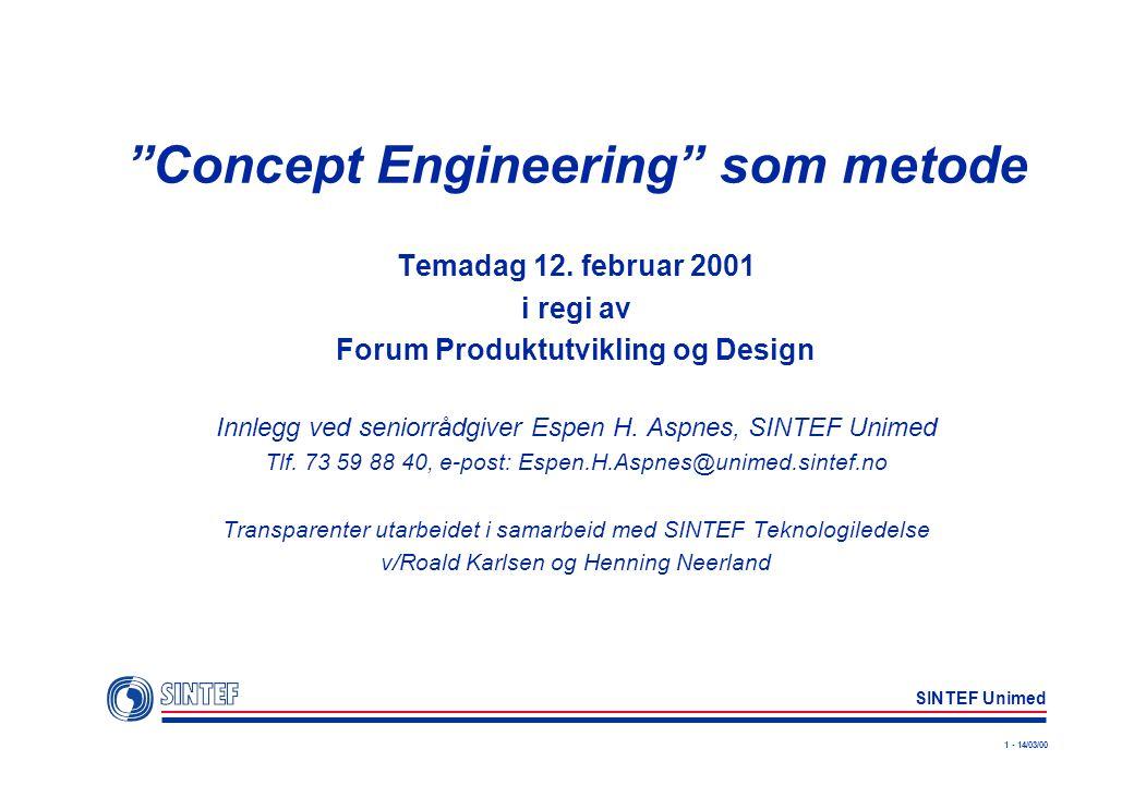 Concept Engineering som metode