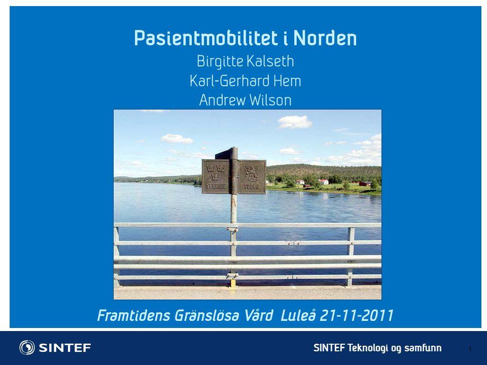 Pasientmobilitet i Norden