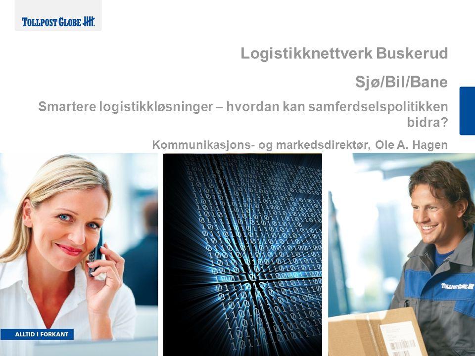 Logistikknettverk Buskerud Sjø/Bil/Bane