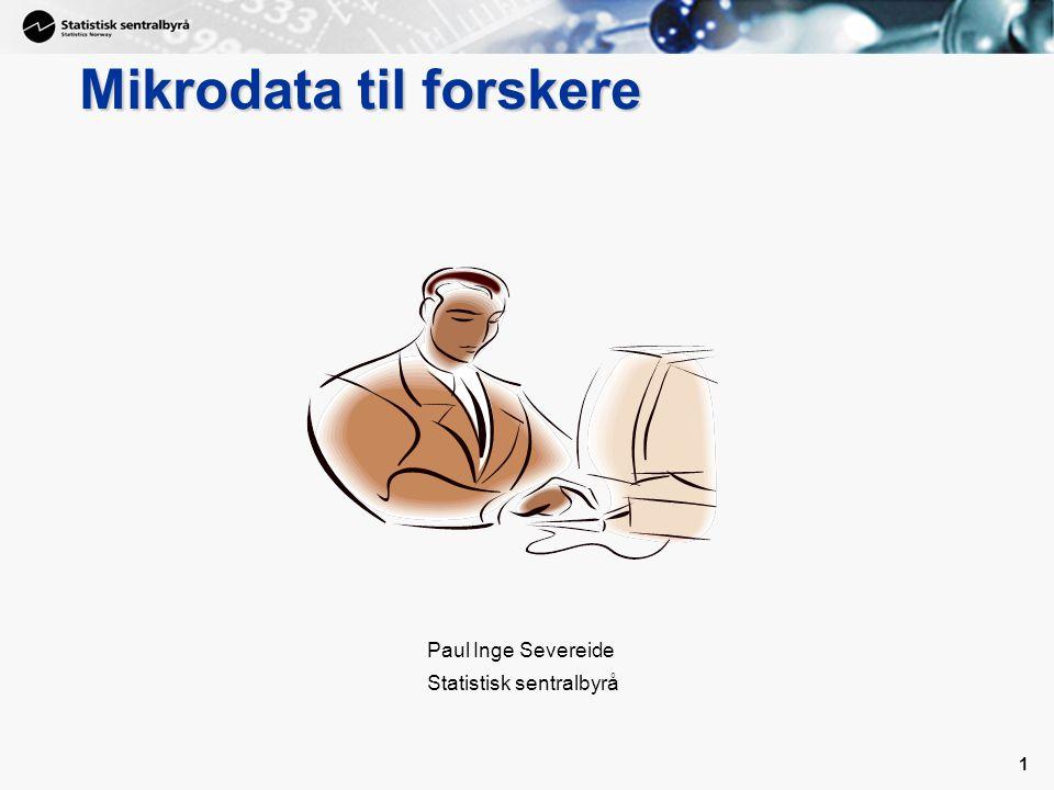 Mikrodata til forskere