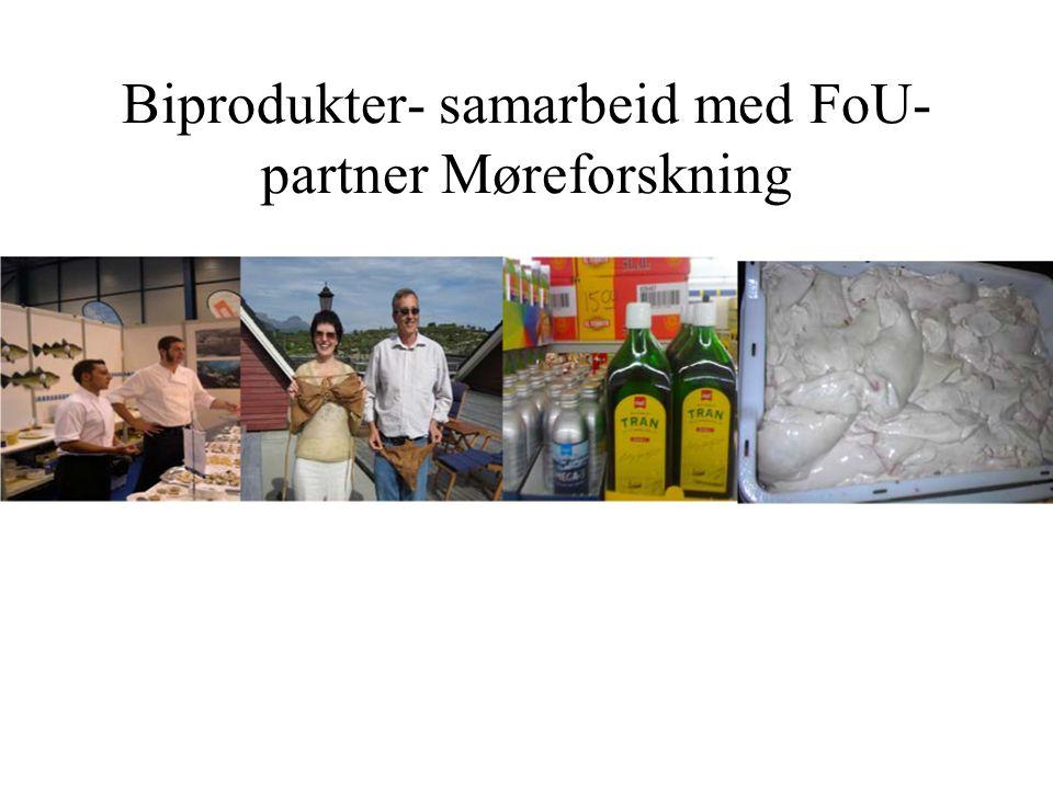 Biprodukter- samarbeid med FoU- partner Møreforskning