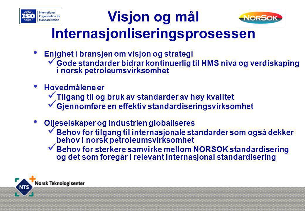 Visjon og mål Internasjonliseringsprosessen