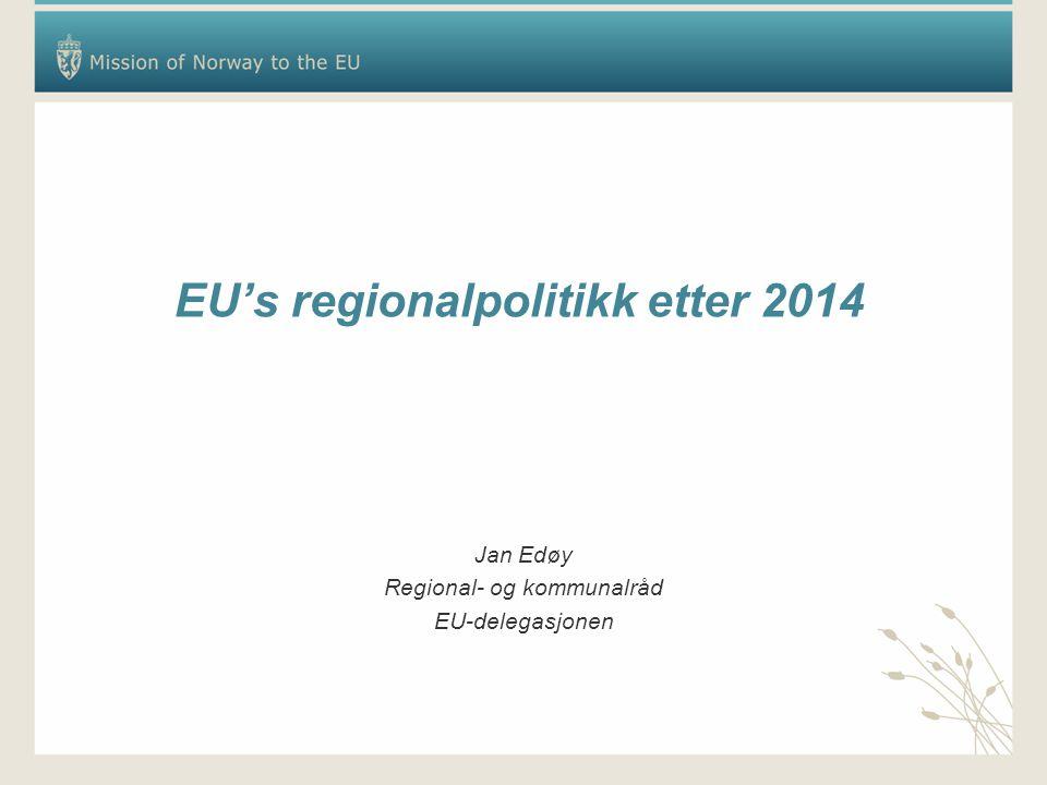 EU's regionalpolitikk etter 2014