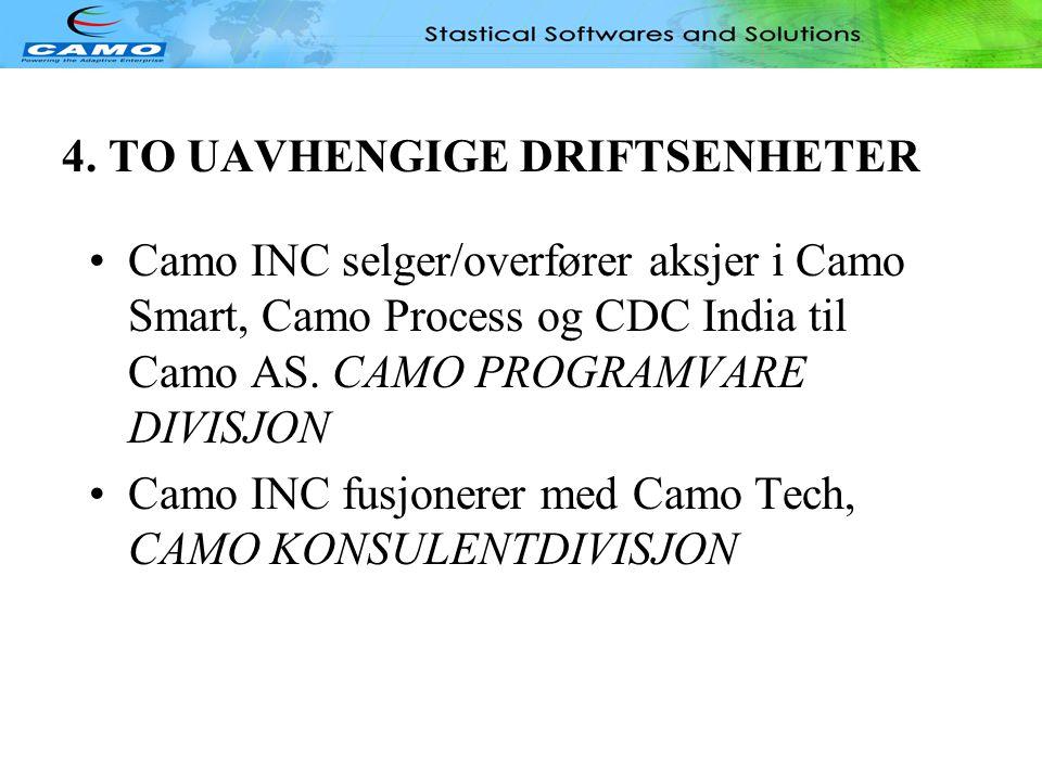 4. TO UAVHENGIGE DRIFTSENHETER