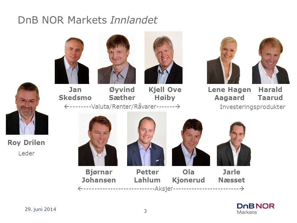 DnB NOR Markets Innlandet