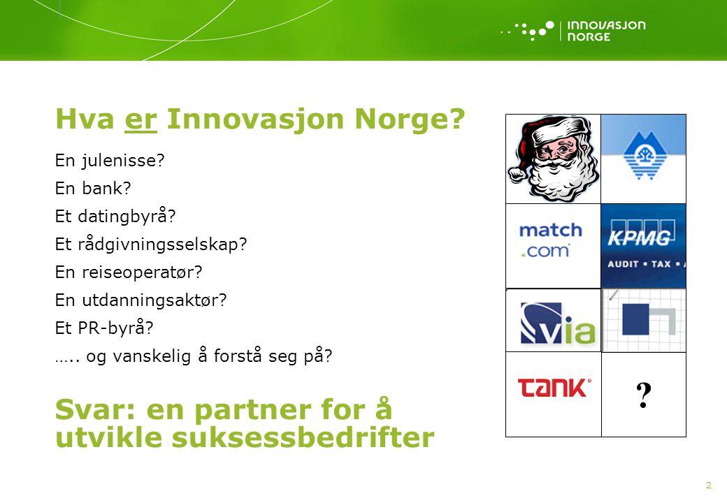 Hva er Innovasjon Norge