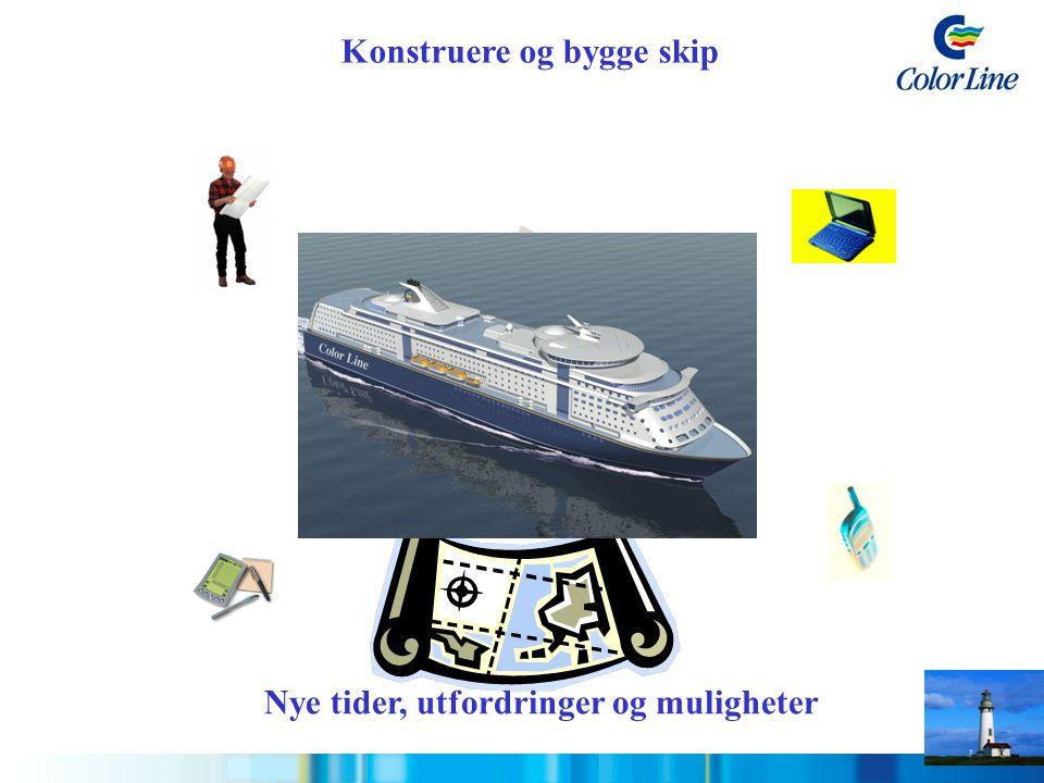 Konstruere og bygge skip
