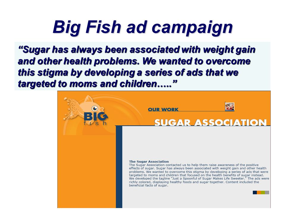 Big Fish ad campaign