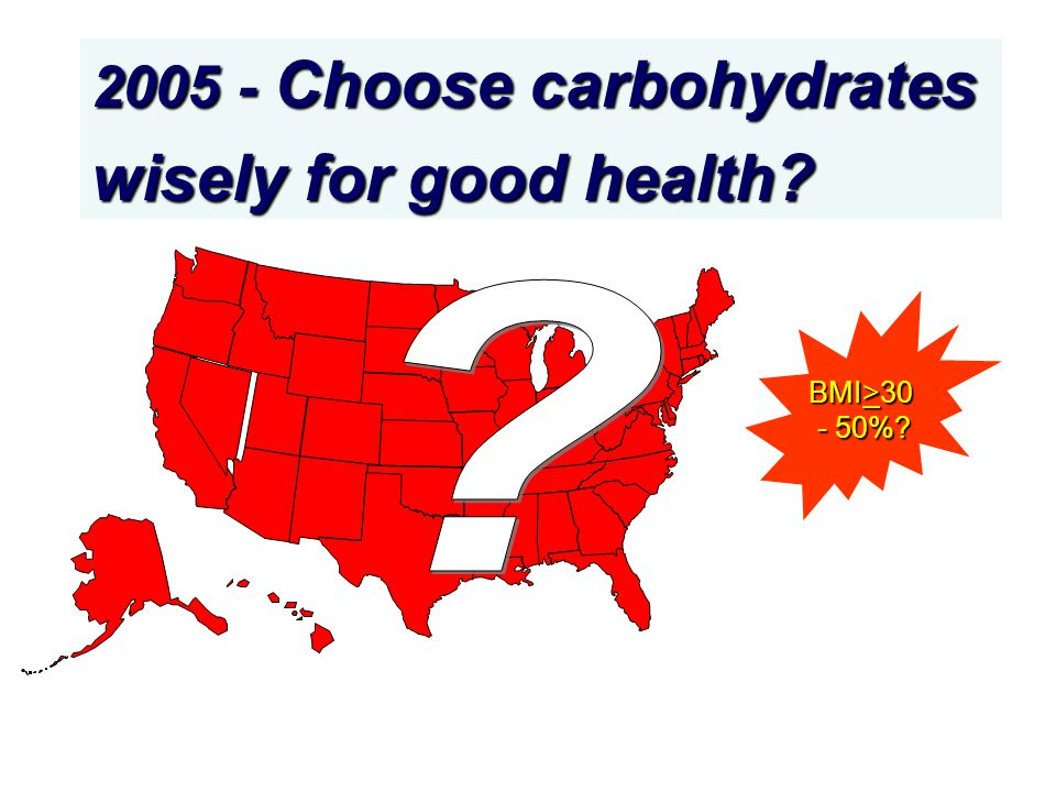 2005 - Choose carbohydrates