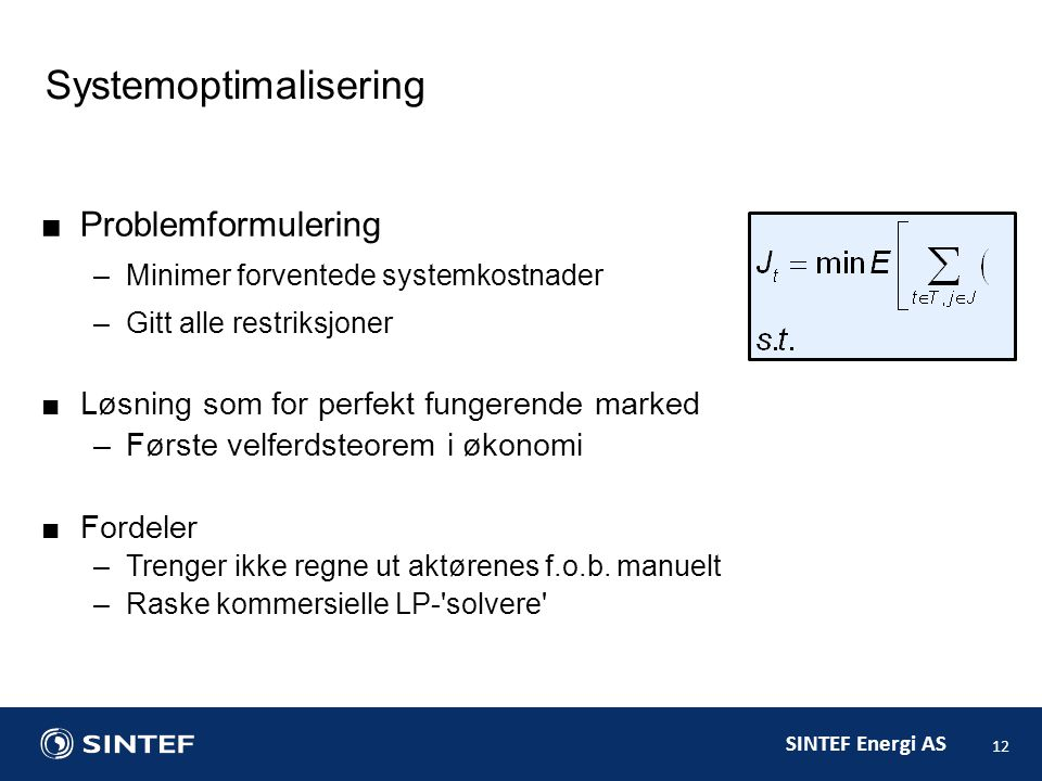 Systemoptimalisering