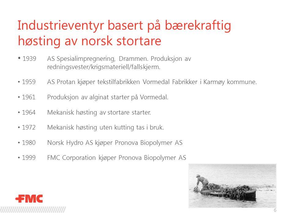 Industrieventyr basert på bærekraftig høsting av norsk stortare