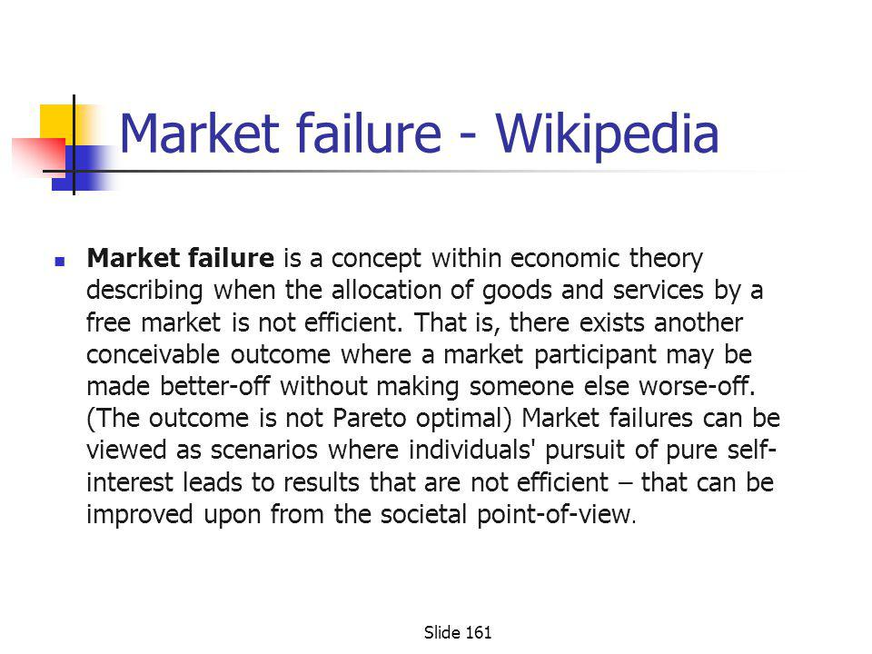 Market failure - Wikipedia