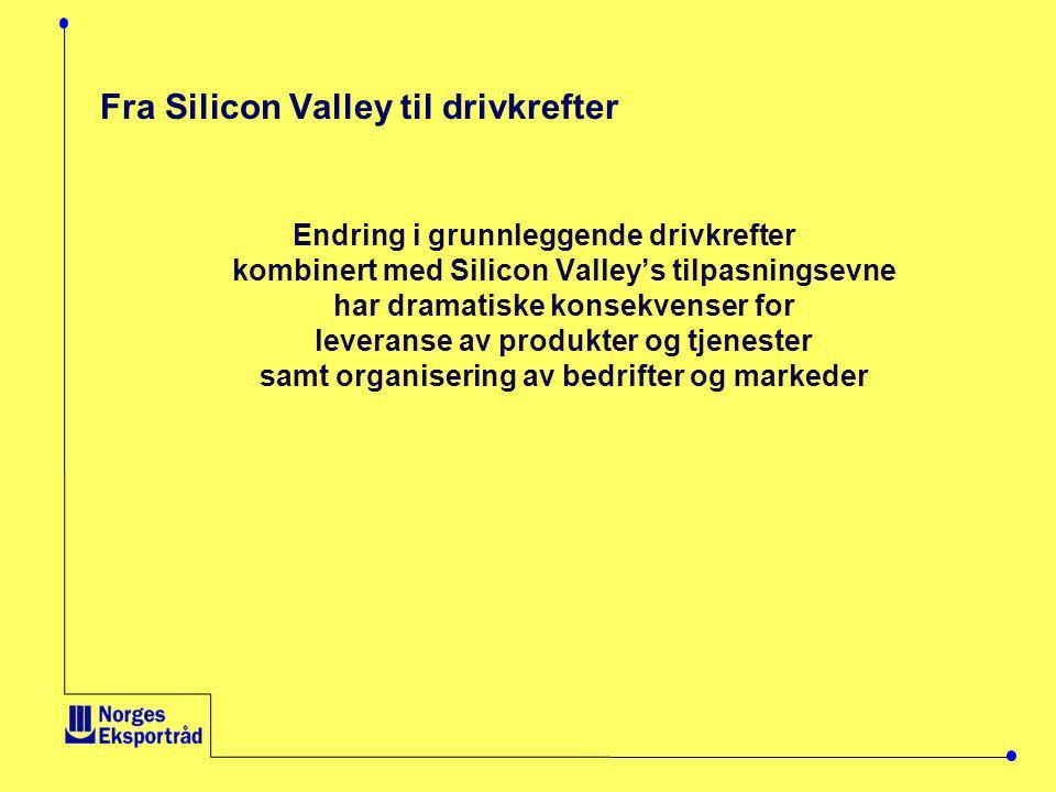 Fra Silicon Valley til drivkrefter
