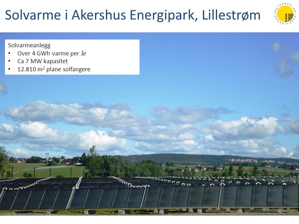 Solvarme i Akershus Energipark, Lillestrøm