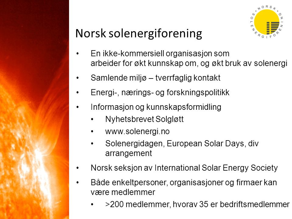 Norsk solenergiforening