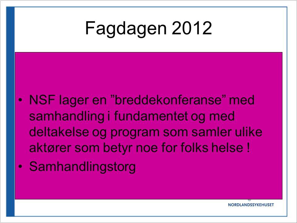 Fagdagen 2012