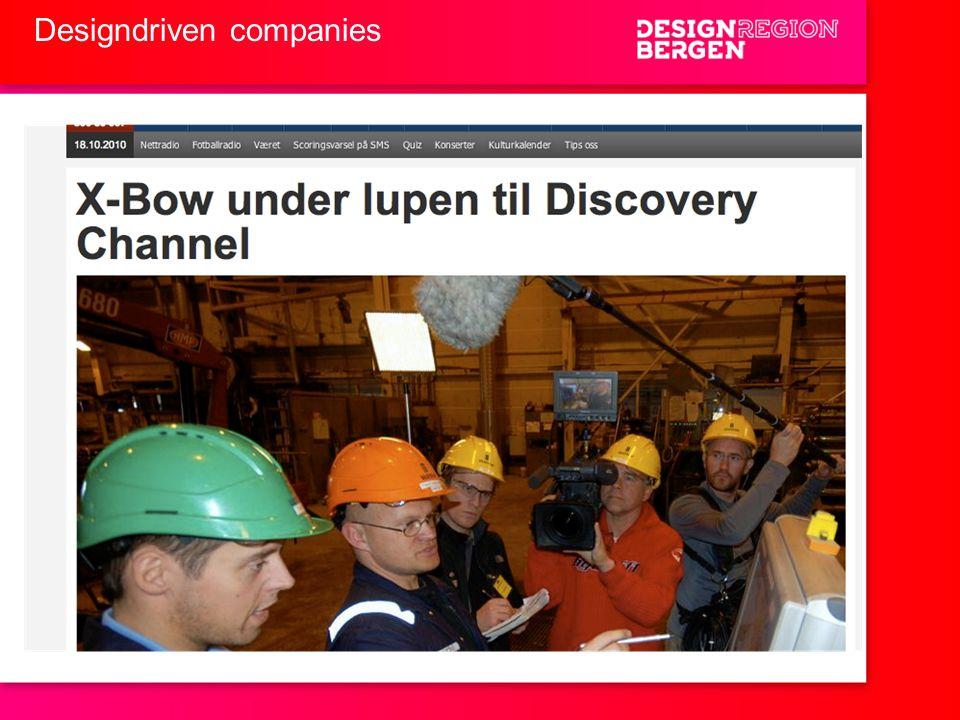 Designdriven companies