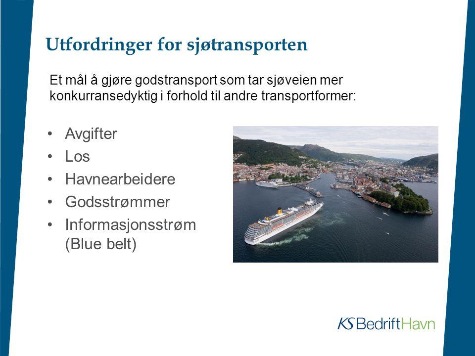 Utfordringer for sjøtransporten