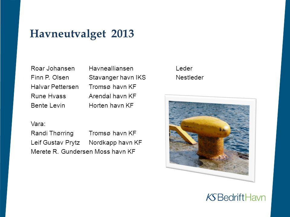 Havneutvalget 2013 Roar Johansen Havnealliansen Leder