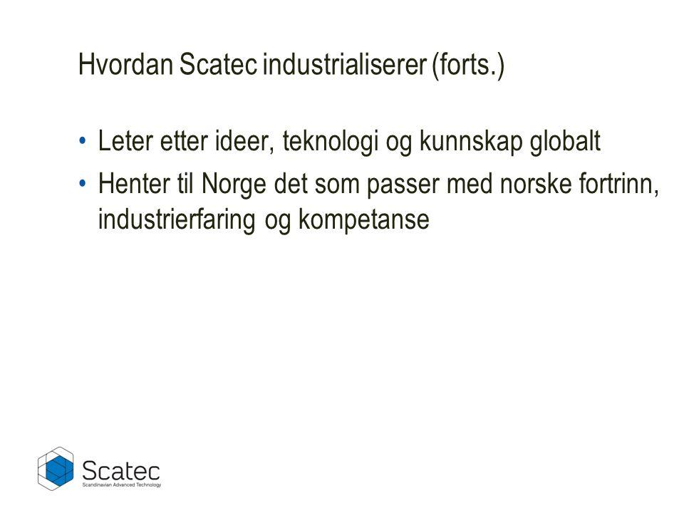 Hvordan Scatec industrialiserer (forts.)