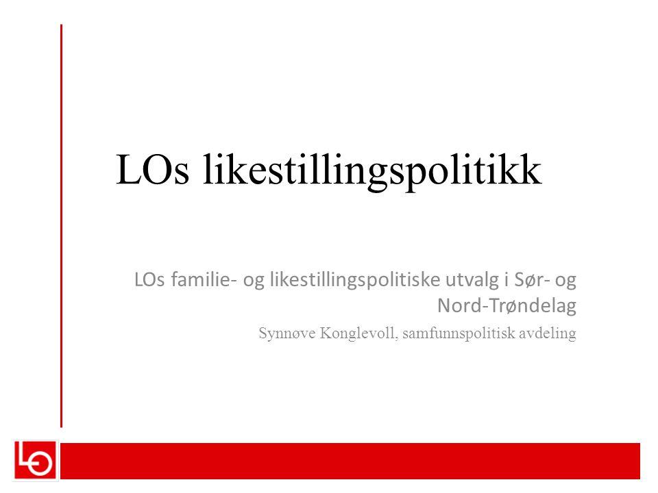 LOs likestillingspolitikk