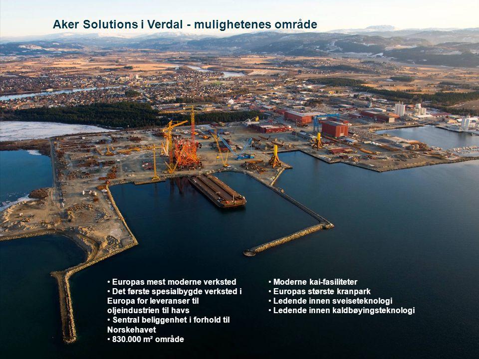 Aker Solutions i Verdal - mulighetenes område