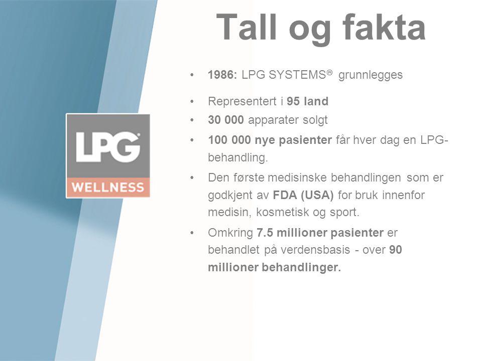 Tall og fakta 1986: LPG SYSTEMS grunnlegges Representert i 95 land