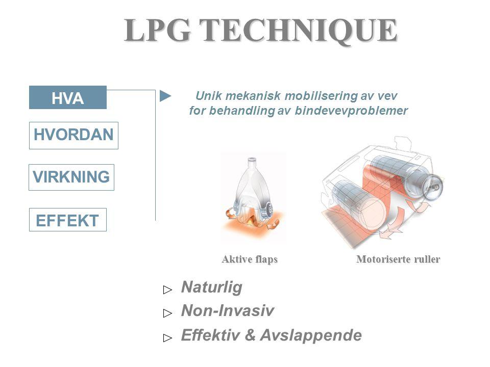 Unik mekanisk mobilisering av vev for behandling av bindevevproblemer
