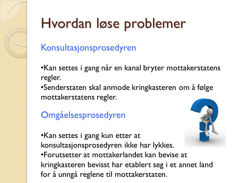 Hvordan løse problemer