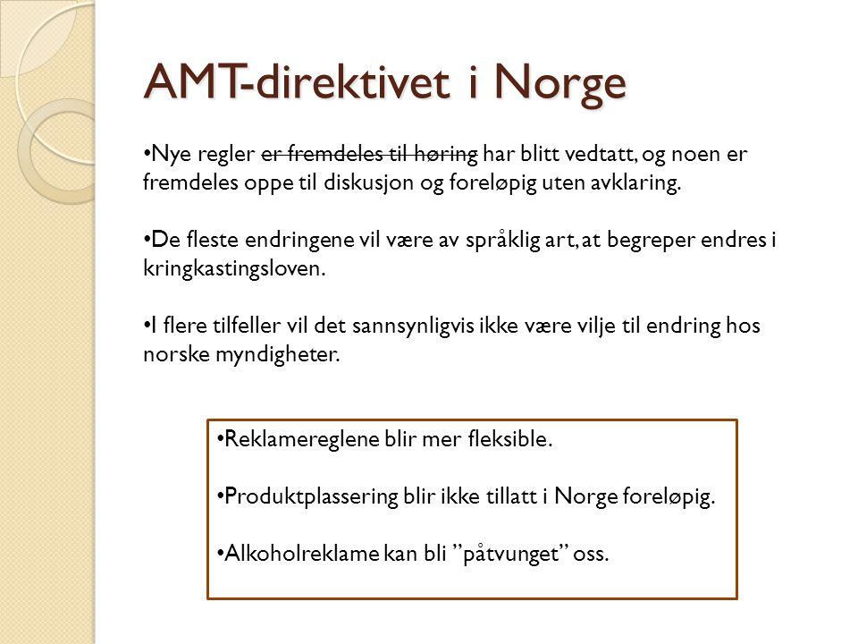 AMT-direktivet i Norge