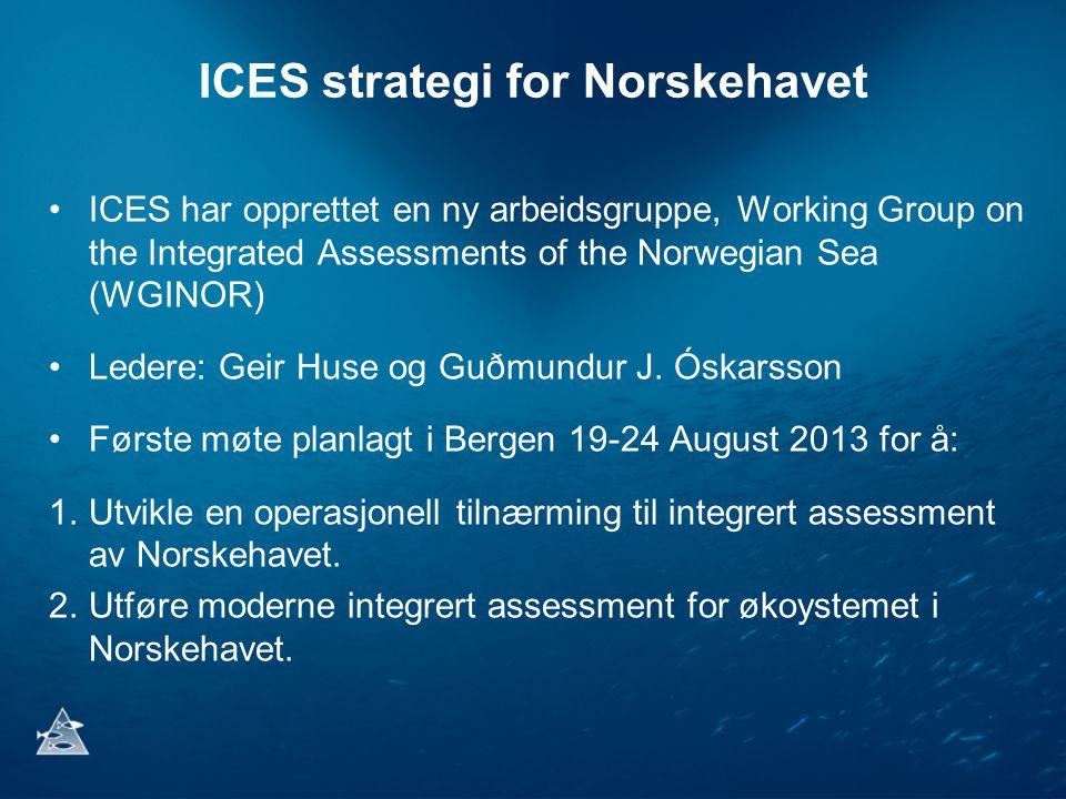 ICES strategi for Norskehavet