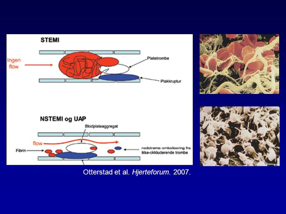 Otterstad et al. Hjerteforum. 2007.