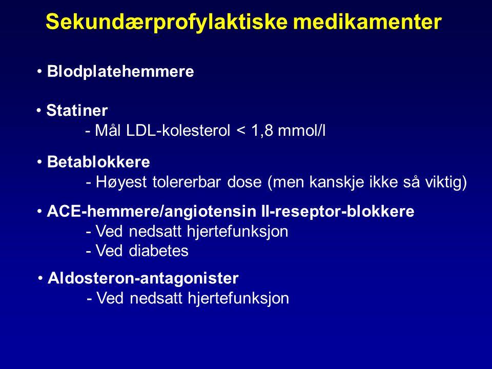 Sekundærprofylaktiske medikamenter