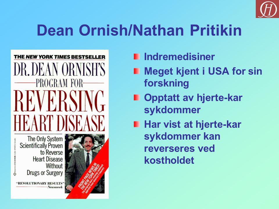 Dean Ornish/Nathan Pritikin