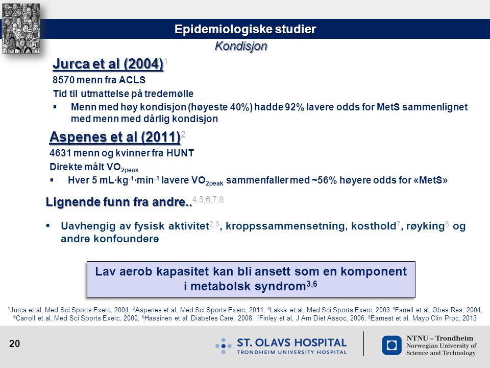 Epidemiologiske studier